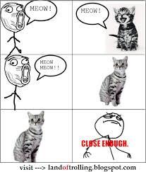 Close Enough Meme - home close enough meme talking to cat