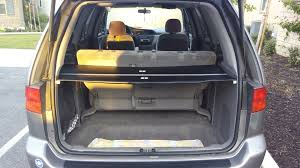 Ford Escape Trunk Space - how to make your own cargo cover for 1999 honda odyssey youtube