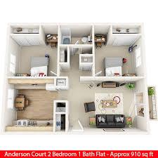 2 Bedroom Design Davis California Apartments Floor Plans Court