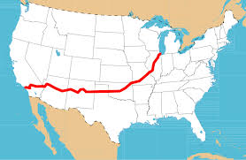 map us highway route 66 route 66 of american roads