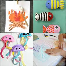 kid crafts for summer images craft design ideas