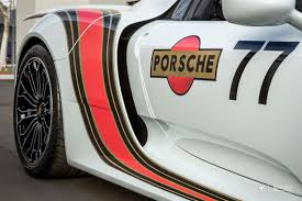 porsche martini logo porsche 918 spyder martini with an orange twist protective film