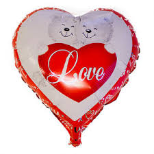 valentines day balloons wholesale wholesale 18 valentines day heart shaped helium foil balloon