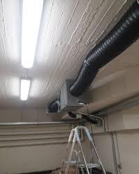 dry room ceiling system in basement ecor pro b v