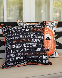 halloween pillow totally ghoul pumpkin lamppost cover halloween decoration
