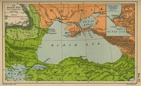 Sea World Map Map Of The Black Sea The Crimean War 1853 1856