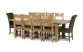 Oak Extending Dining Table And 8 Chairs Brilliant Oak Dining Table And 8 Chairs Toronto Oak Extending