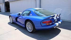 Dodge Viper White - 1997 dodge viper gts blue white stripes american supercars
