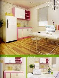 Kitchen Set Minimalis Untuk Dapur Kecil Princess New Pink Desain Kitchen Set Minimalis 4 2 Juta Untuk