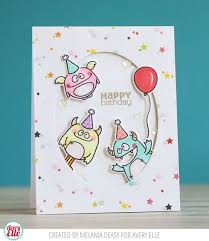 ideas of diy children birthday cards collection