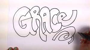 name writing paper how to draw your name cool letters grace in graffiti letters how to draw your name cool letters grace in graffiti letters mlt youtube