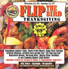 the bird thanksgiving rockin baja lobster newport ca