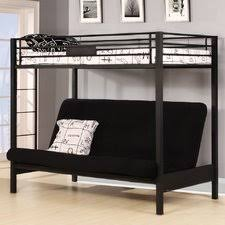 Full Over Full Futon Bunk Bed by Full Size Loft Bed With Futon Roselawnlutheran