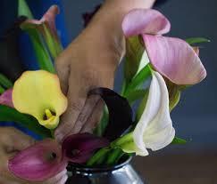 Calla Flower Calla Lily Rethinking A Bridal Bouquet Flower Gardenista