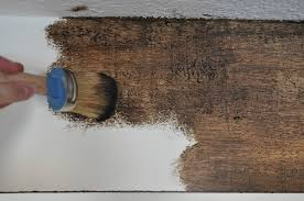 wood painting diy painted faux wood ceiling beams the copper anchor