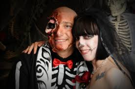 halloween weddings viva las vegas chapel u0027s horror themed