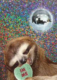 sloth valentines day card d sloth valentines day card was not disappointed gif on
