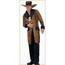 Pimp Halloween Costumes Halloween Costumes Leopard Pimp Costume Teens Adults Polyvore