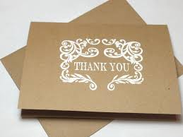 embossed note cards rustic wedding handmade thank you note card set embossed thank y