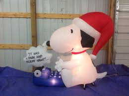 image gemmy inflatable snoopy at his typewriter jpg gemmy wiki