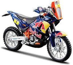 diecast motocross bikes bburago red bull ktm 450 rally dakar rally 1 18 diecast