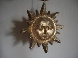 decorative sun ornament image 500x375 pixels