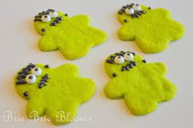 frankenstein gingerbread men sugar cookies brie brie blooms