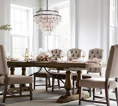 Pottery Barn Evergreen Walk Gemma Crystal Tiered Chandelier Large Chandeliers Pottery And Barn