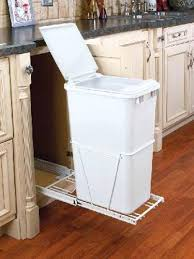 pull out trash can for 12 inch cabinet pull out built in trash cans cabinet slide out under sink compare