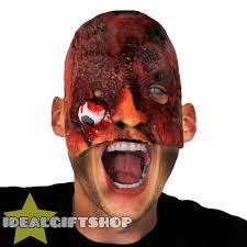 new halloween mask latex halloween mask adults horror gory face flesh nightmare scar