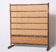 trennwand schlafzimmer bambus bildschirm raumteiler trennwand für schlafzimmer