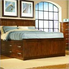 olivia storage wood oak queen or king captains bed shop home