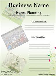 conference meeting planning template