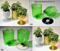 Diy Plastic Bottle Vase Plastic Bottle Vase Craft Home Design U0026 Architecture Cilif Com