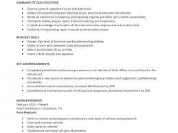 mechanic resume template remarkable mechanic resume template diesel cv sle uk free auto