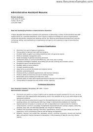 assistant resume exle admin assistant resume sales assistant lewesmr