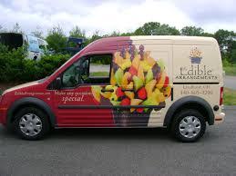 edible delivery edible arrangements transit wrap vehicle wraps