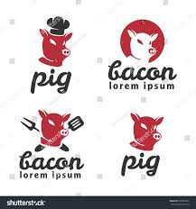 pig logo pig icon pork logo stock vector 583883692 shutterstock pig logo pig icon pork logo beef farm animal food