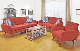 red furniture living room bold red couches what a statement