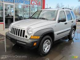 silver jeep liberty 2012 2006 jeep liberty sport 4x4 in bright silver metallic 164116