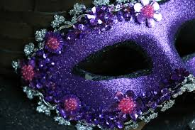 purple masquerade masks purple masquerade mask by by s handiworks the patch