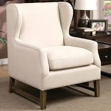 Silver Accent Chair Classic Wingback Design Accent Chair With Silver Nailhead Trim