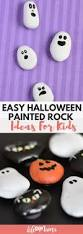 easy halloween painted rock ideas for kids