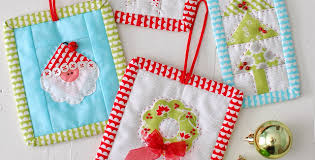 sweet patchwork ornaments for quilting digest
