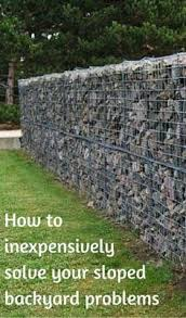 Retaining Wall Ideas For Sloped Backyard with Sloped Landscape Design Ideas Designrulz 14 Backyard