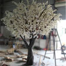 350cm height artificial white cherry blossom trees dongyi