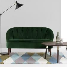 canap velours vert canapé velour canap fixe lazare en velours salons living rooms and