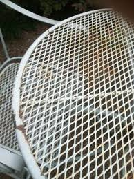 Paint For Metal Patio Furniture Repaint Old Metal Patio Chairs Diy Paint Outdoor Metal Motel
