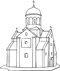 church coloring pages print chuckbutt