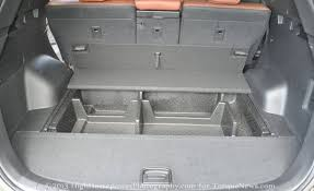 cargo space in hyundai santa fe 2013 hyundai santa fe sport review standing out in a packed